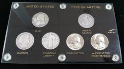 6pc US Quarter Type Set