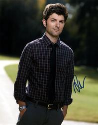 Adam Scott Autographed Parks & Recreation Photo