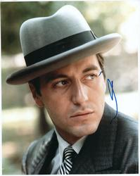Al Pacino Autographed 8×10 Godfather Part II Photo
