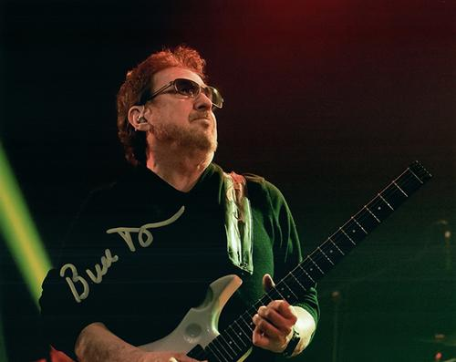 Blue Oyster Cult Buck Dharma Live Signed Photo