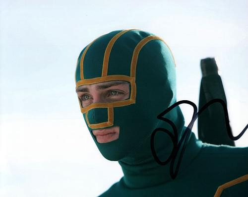 Aaron Taylor-Johnson kickass Signed Photo