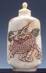 Bone Hand Crafted Snuff Bottle
