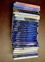 30 clad Quarter Proof. Sets 2ea 1999-2014, no 2012