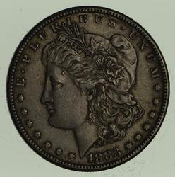 1883-S Morgan Silver Dollar - Near Uncirculated