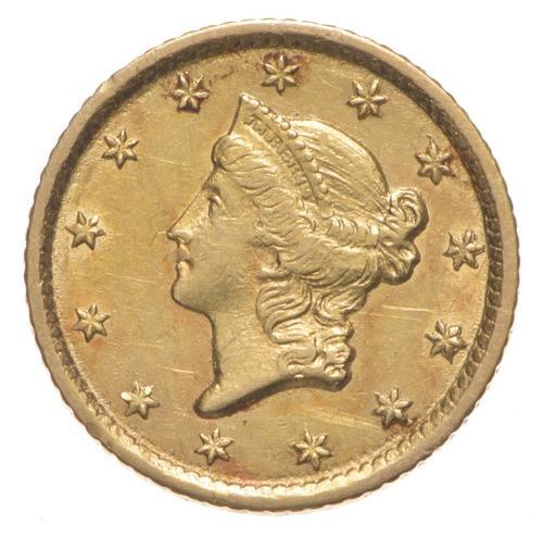 1853-O Liberty Head Gold Dollar - Type 1