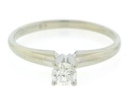Classic .18ctw RBC Solatire Diamond Ring