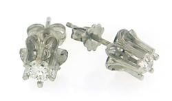 Lovely Buttercup Diamond Earrings