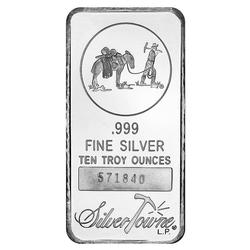 SilverTowne 10oz Silver Bar Prospector Design