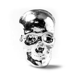2oz Atlantis Mint Hand Poured .999 Silver Skull