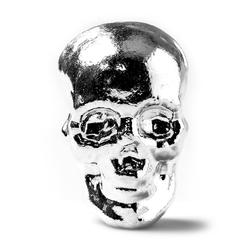 5oz Atlantis Mint Hand Poured .999 Silver Skull