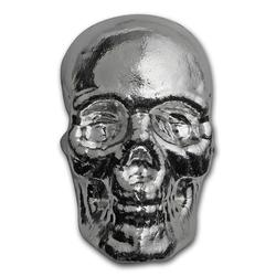 1 Kilo Atlantis Mint Hand Poured .999 Silver Skull