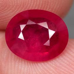 Ravishing 4.93ct rich blood red Ruby