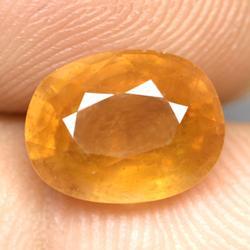 Lavish 4.61ct yellow Sapphire