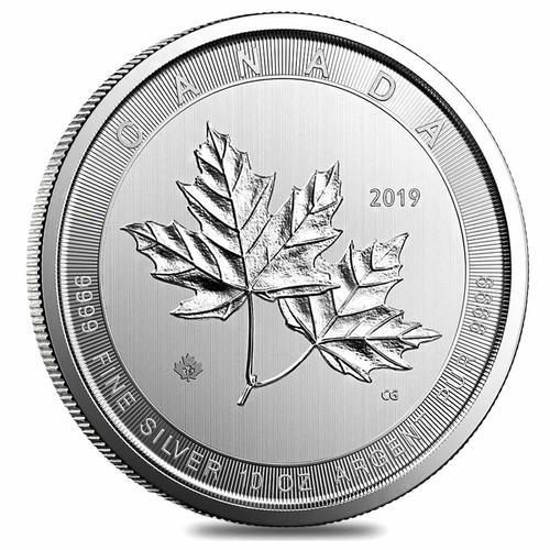 2019 Canada 10oz Silver $50 Magnificent Maple Leaf