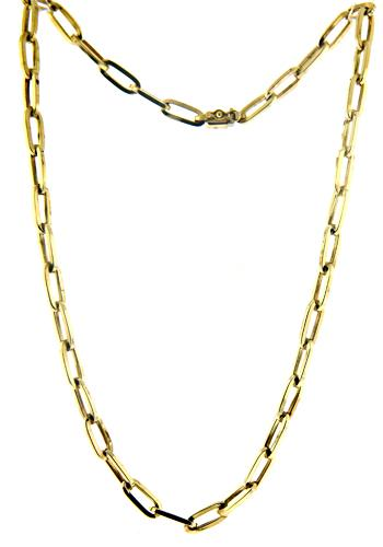 Nice Open Link Chain Necklace