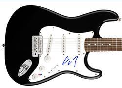 Slipknot Corey Taylor Autographed Signed Guitar