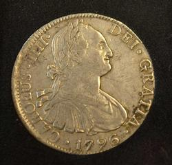 1796 Mo FM Mexico 8 Reales, Great Coin