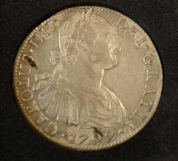 1792 Mo FM Mexico 8 Reales, Great Coin