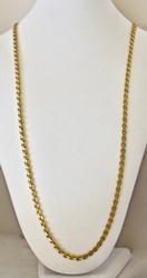 Unique 22kt Solid Gold Chain Necklace