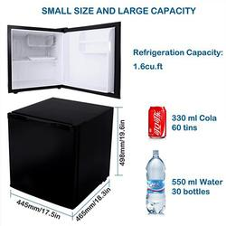 46L Mini Beverage Car Refrigerator Food Drink Can