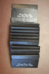 12 Silver Proof Sets 4-92 ,3-93 ,2-94 ,1-95 , 1-96 & 1-98