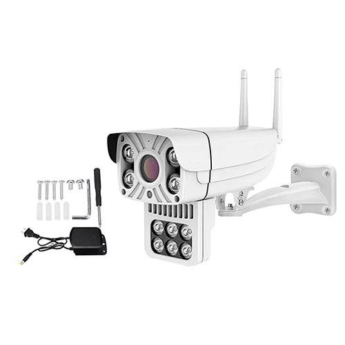 1080P 10 LED IP66 Outdoor Smart IP Camera Full Color