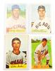 4 Bowman 1954 Baseball Cards