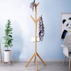 Wooden Coat Stand Rack Cloth Hanger