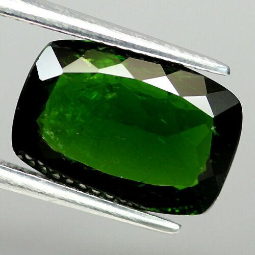 Large 4.49ct deep green untreated Chrome Diopside