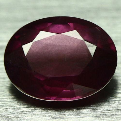 Rich 1.81ct top violet unheated Rhodolite Garnet