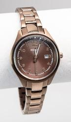 Ladies Chocolate Color Fossil Watch