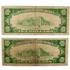 2 1929 $10 National Currency Notes Series FR 1860 B F