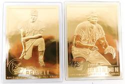 2 Orioles 1996 22KT Gold Baseball Cards