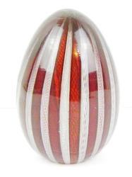 Vintage Italian Murano Venetian Glass Egg