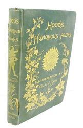 1893 Hood's Humorous Poems, Illustrated