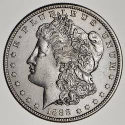 1888-S Morgan Silver Dollar - Circulated
