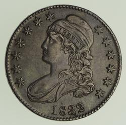 1832 Capped Bust Half Dollar - Small Letters - Circulated
