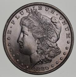 1880-S Morgan Silver Dollar - Uncirculated