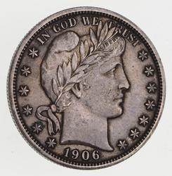 1906 Barber Half Dollar - Near Uncirculated