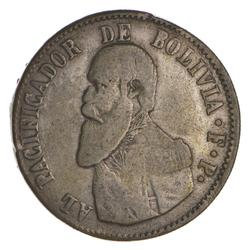 1865 Bolivia 1 Melgarejo - Circulated