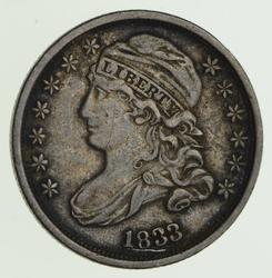 1833 Capped Bust Dime - Circulated