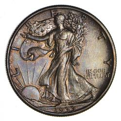 1933-S Walking Liberty Silver Half Dollar - Choice