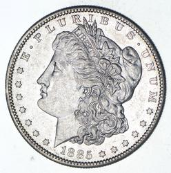 1885-S Morgan Silver Dollar - Near Uncirculated