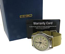 Seiko 5 Sport Automatic Cream Dial Watch