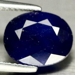 Top ink blue 4.41ct Sapphire