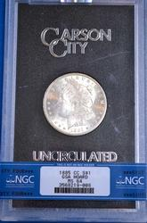 1885-CC Morgan Dollar, GSA UNC, NGC MS64