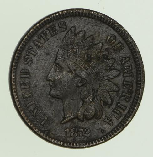 1872 Indian Head Cent - Circulated