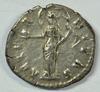Near Mint Faustina Roman Silver Denarius, 141 AD