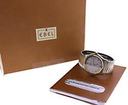 Ebel Sport Classic Wave 2 Tone Watch