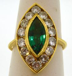 Fabulous 18KT Yellow Gold Lady's Ring